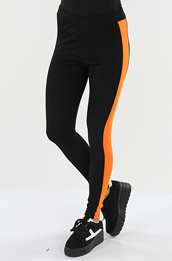 Athene Leggings Neon Orange