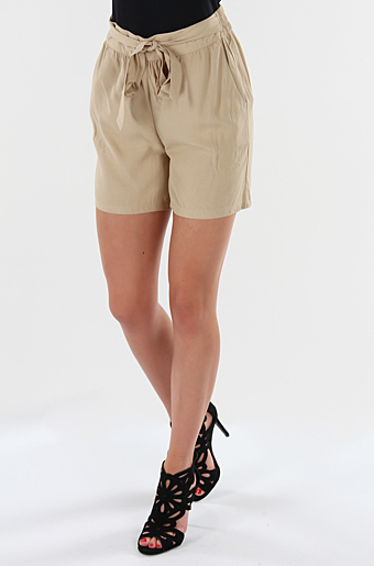 Viamona Shorts Soft Camel