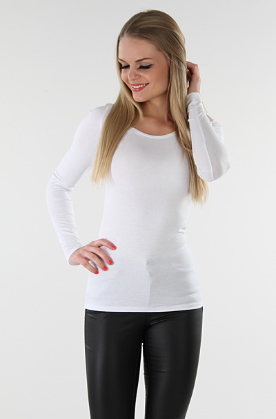 Viofficiel Bluse Optical Snow