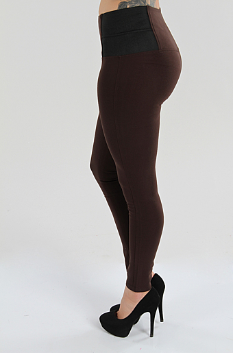 Genera Leggings Brun