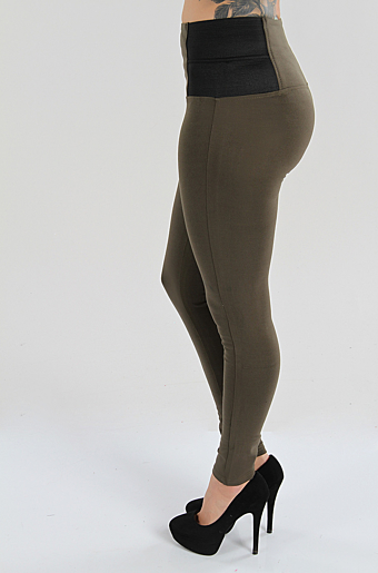 Genera Leggings Khaki