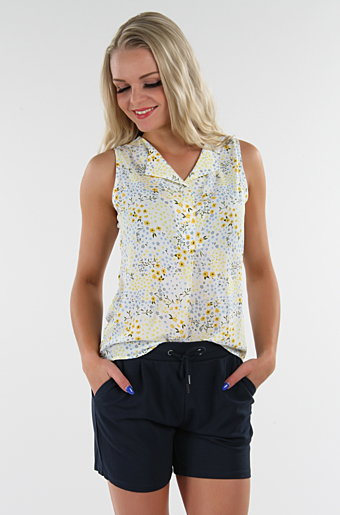 Vilucy Primrose Top Powder Blue