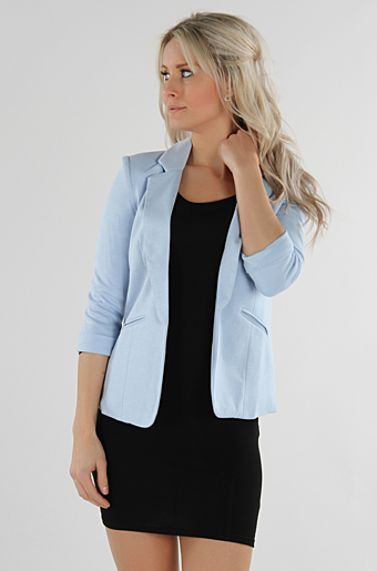 Farrah Blazer Powder Blue