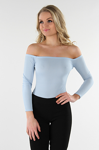 Bardot Bodysuit Powder Blue