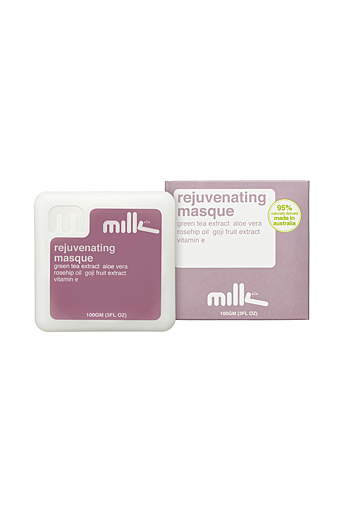 Milk Rejuvenating Mask Hvid