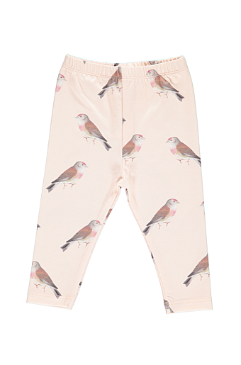 La Malak Bird Leggings Pure Baby Tone