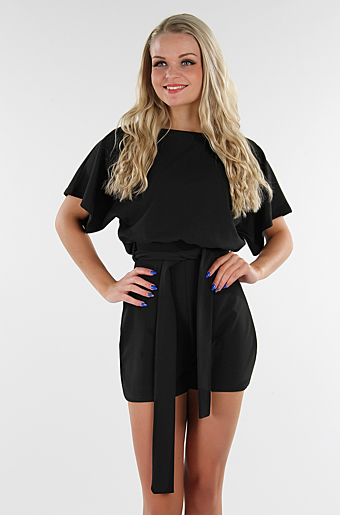 Valentina Playsuit Sort