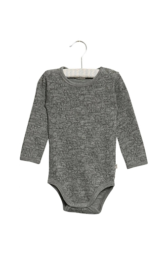 Body Plain Uld LS Melange grey
