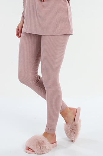 Ribbi Leggings Misty rose