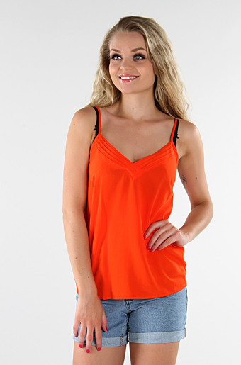 Viliba Top Orange