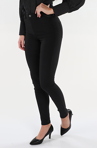 Highskin Jeggings Sort