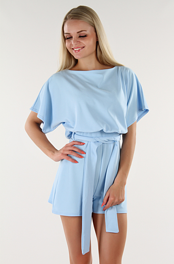 Valentina Playsuit Sky blue