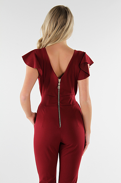 Kassia Jumpsuit Bordeaux