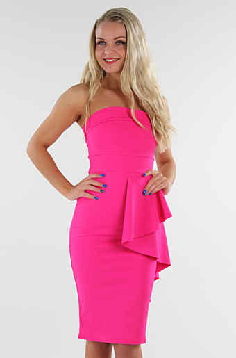 Chantel Bodycon kjole Pink
