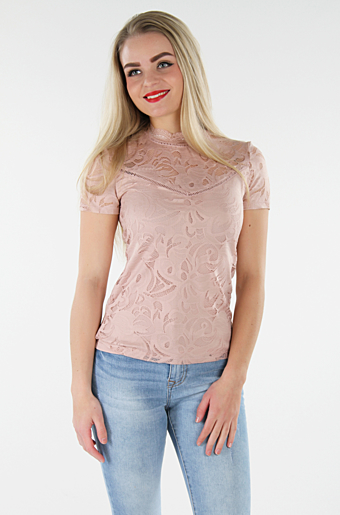 Vistasia Blonde Top Pale Mauve