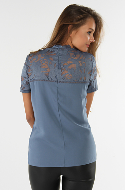 Vistasia Blonde Top China Blue