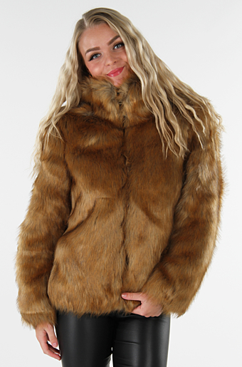 Vipimps Faux Fur Toffee