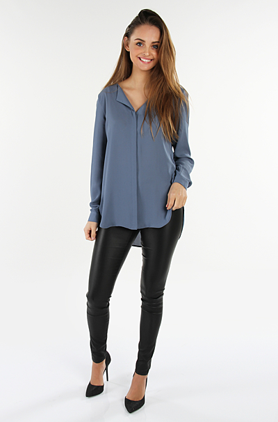 Vilucy Bluse China Blue