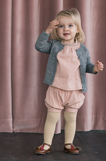 Tria Bluse Dusty Rose