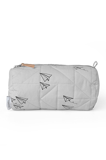 Asta Toilettaske Paperplane Dumbo grey