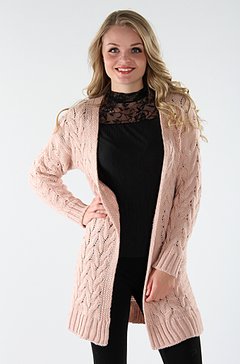 Kalyn Cardigan Rose