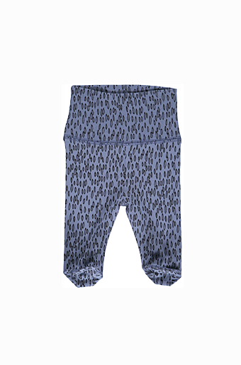 Sander Newborn Seeds Leggings Ice blue