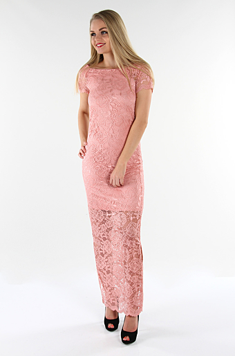 Vizally Maxi Kjole Bridal Rose