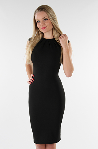 Amy Bodycon Kjole Sort