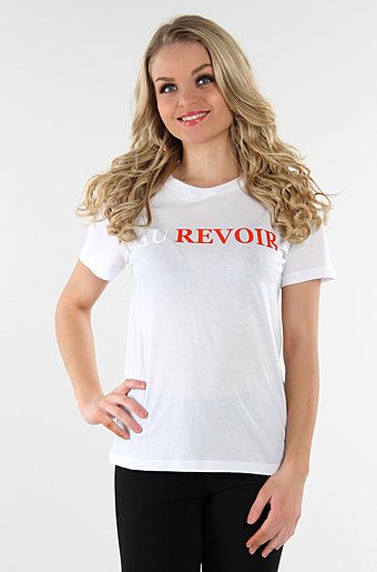 Viaure T-shirts Au Revoir Cloud dancer