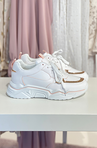 Ava Sneakers Champagne
