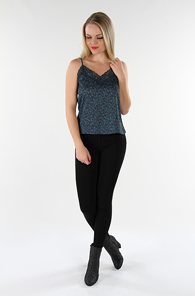 Vicosyset Top Deep Teal