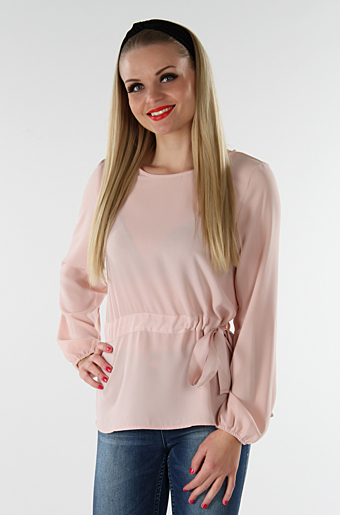 Visarina Bluse Smoke Rose