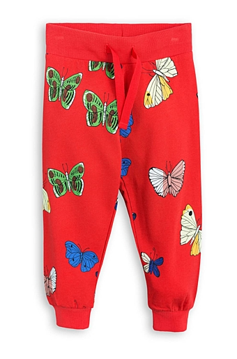 Butterflies Sweatpants Rød