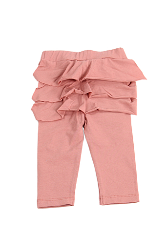 Ruffle Baby Leggings Powder