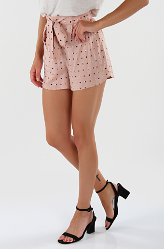 Pcnya Shorts Misty rose