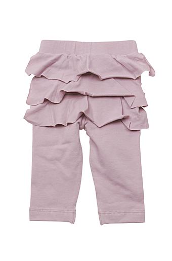 Ruffle Baby Leggings Light Purple