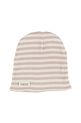 Stripe Beanie Faded Rose