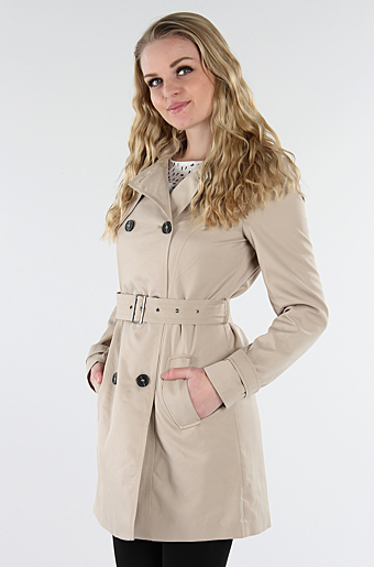 Vithree Trenchcoat Soft Camel