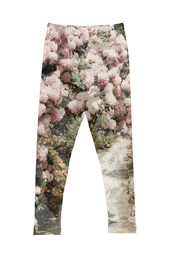Leggings Flower Rosa