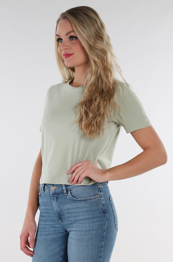 Rina Crop Top Desert Sage