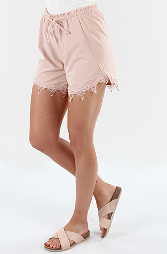Viboudoiri Shorts Rose Smoke