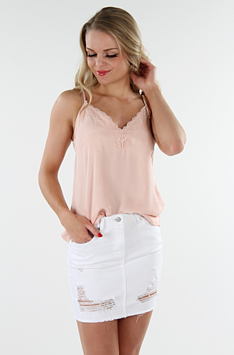 Vikalia Top Smoke Rose