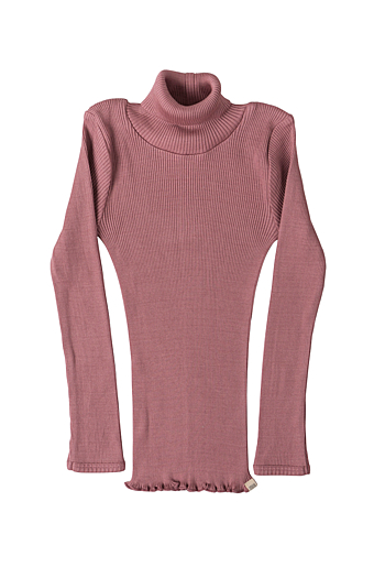 Bui Turtleneck Bluse Cozy Rose