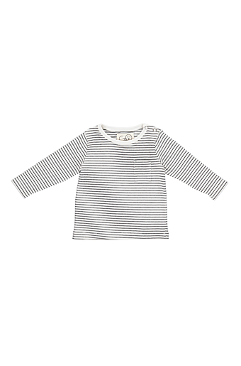 Go Stripe Elliot Bluse Ecru/Black