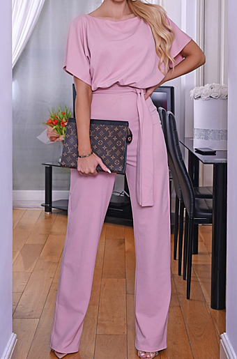 Valentina Jumpsuit Rose
