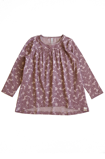 Vilja Top/Tunika Dark Old Pink