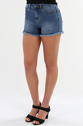 Visommer Denim Shorts Blue denim