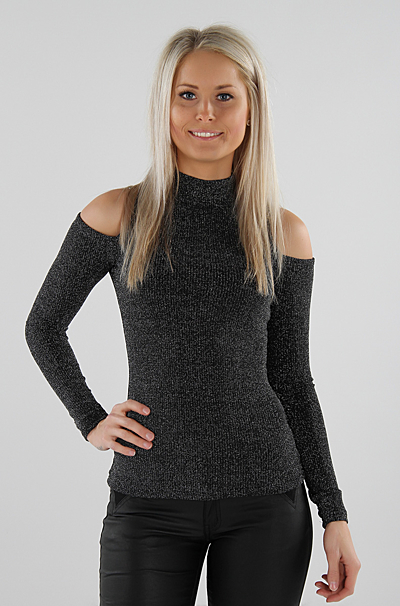 Knitted Cut Out Bluse S 248 Lv Missmartins Dk