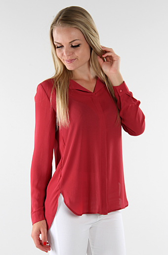 Vilucy Skjorte Bluse Earth red