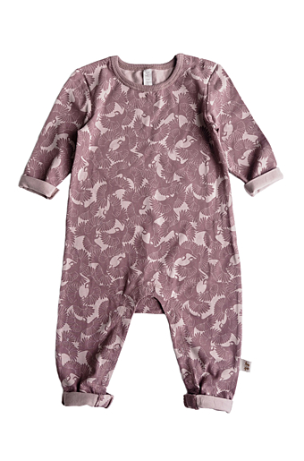 Oskar Playsuit Dark Old Pink